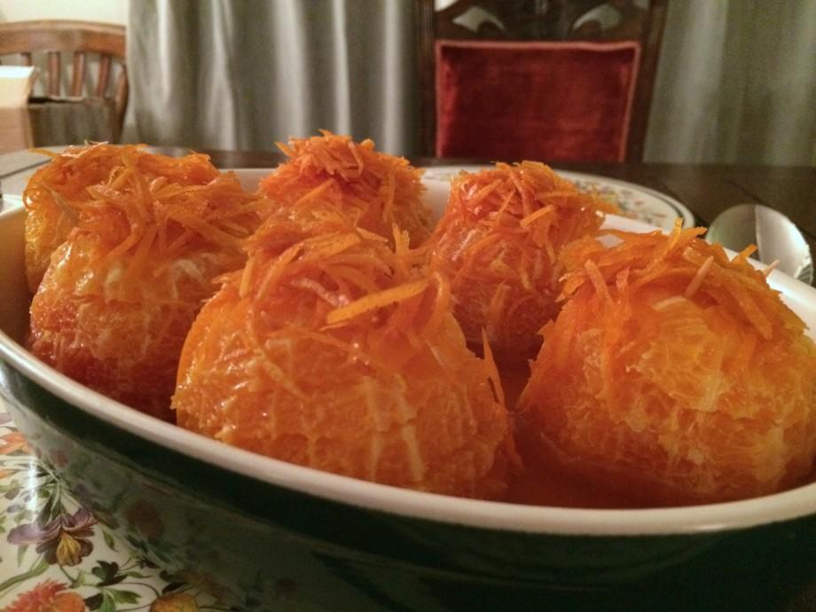 Oranges in Caramel