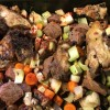 Bones, Meat and Vegetables