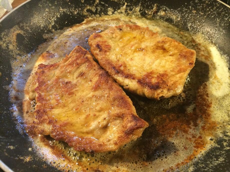 Frying in Butter