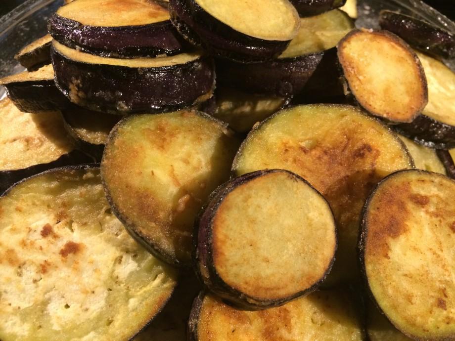 Aubergine Slices