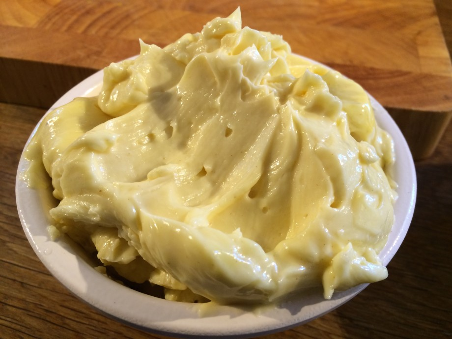 Freshly-made Mayonnaise