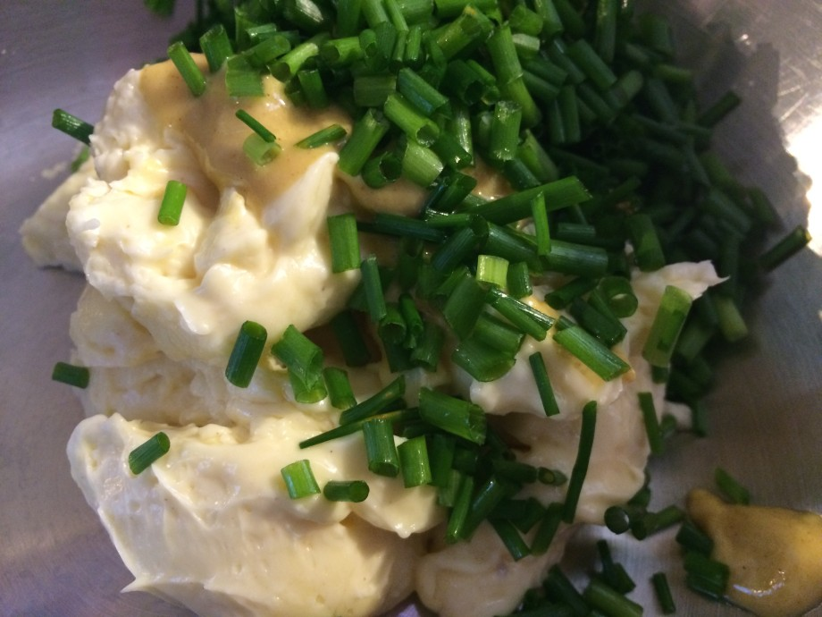 Mayonnaise, Mustard and Chives